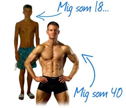 Personlig træning og vægttab med Kasper