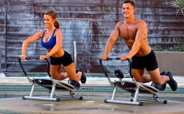 fladere mave, sådan træner du
