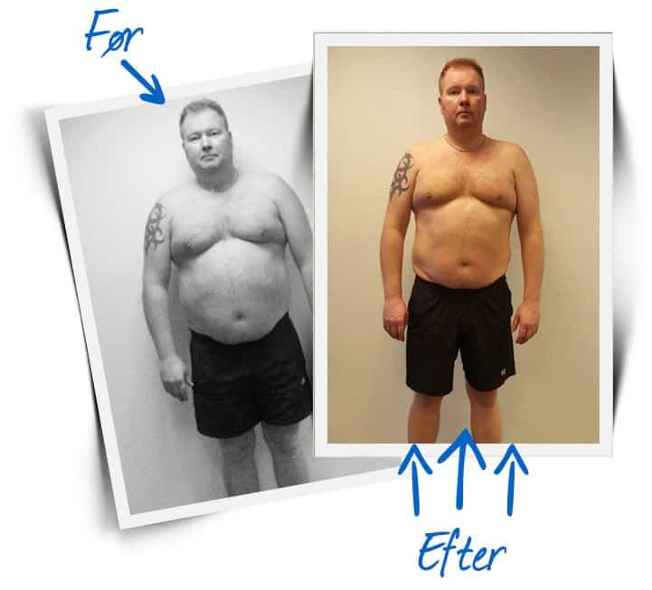 Vægttab Fredericia
