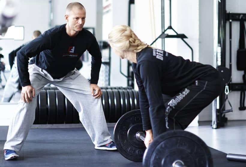 personlige trænere sjælland jylland fyn