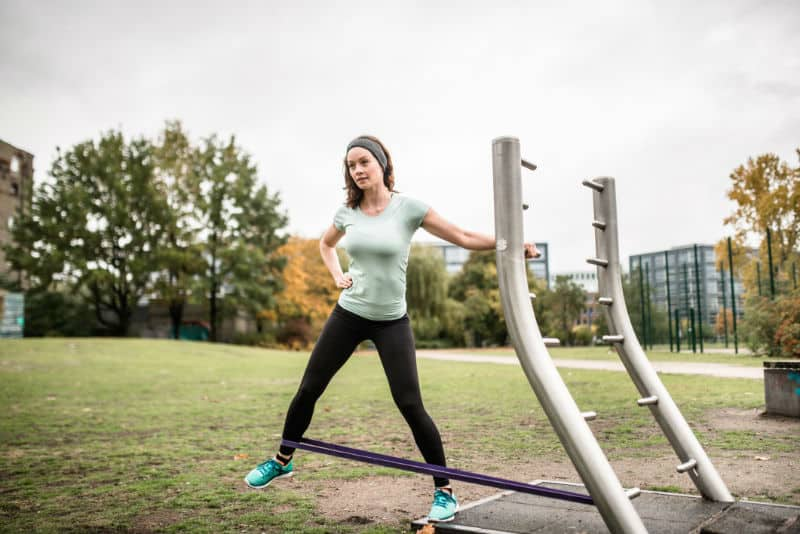 træningsprogram med elastik